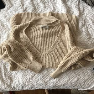 Zara Choker Sweater